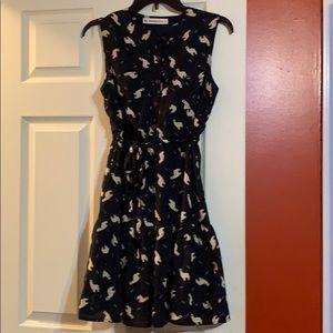 Cute Navy llama/alpaca dress ☺️